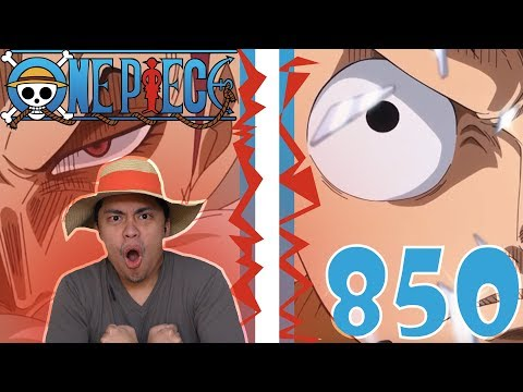 One Piece Episode 850 Reaction and Review! LUFFY VS KATAKURI IN THE MIRROR WORLD   THE FIGHT STARTS!