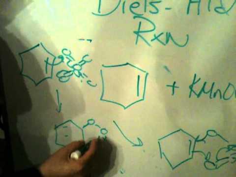permanganate oxidation and osmium tetroxide oxidation of alkenes