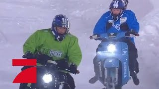 Finale: Wer gewinnt die Wintergames bei der Schnee-Schwalbe? | Die ProSieben Wintergames | ProSieben