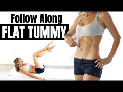10 Minute Flat Tummy Follow Along Abs Workout ⏰ LIVE LEAN ABS 2.0 | LiveLeanTV