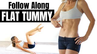 10 Minute Flat Tummy Follow Along Abs Workout ⏰ LIVE LEAN ABS 2.0