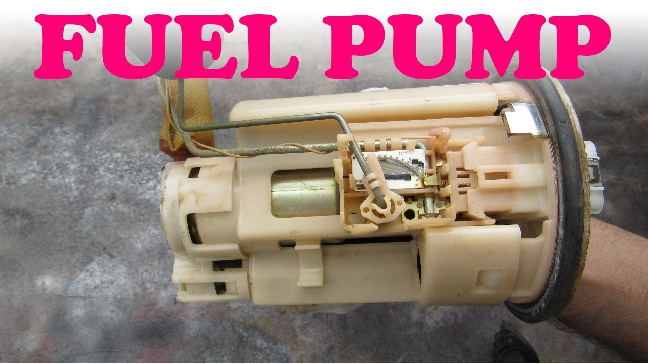how a fuel pump works youtube
