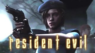 Resident Evil HD Remaster All Custscenes (Game Movie) 1080p HD