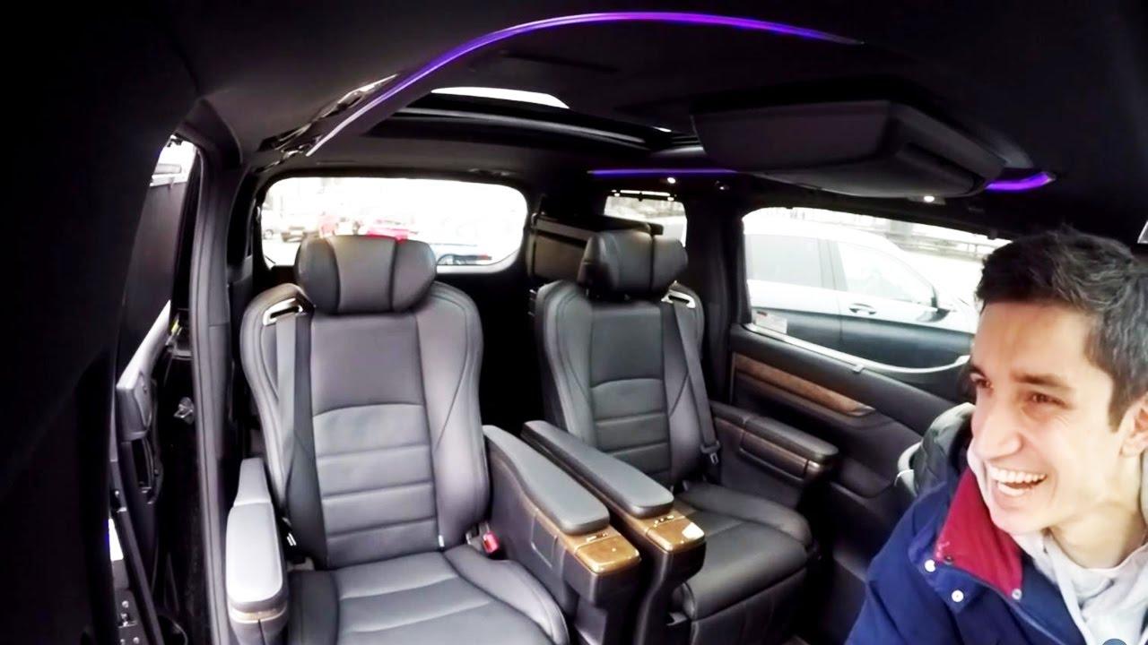 Едем в офис #1 | люксовая Toyota Alphard