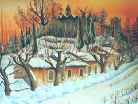 Dipinti ad olio sulla neve youtube for Dipinti ad olio fiori