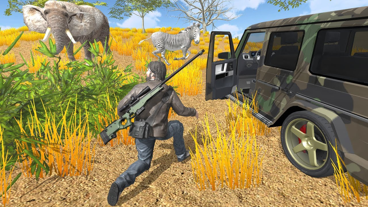 Safari Hunting 4X4 games for iOS & Android 2018