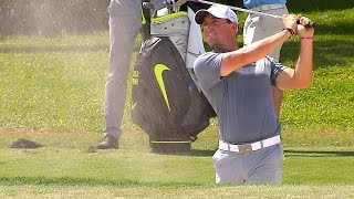 Rory McIlroy's pre-round warm-up routine