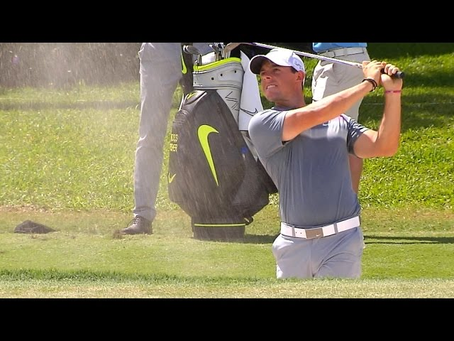 Rory Mcilroy S Pre Round Warm Up Routine Youtube