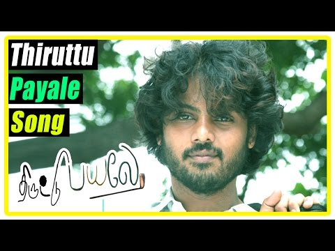 Thiruttu Payale Movie Scenes | Title Song | Title Credits | Jeevan comes to Chennai | Malavika