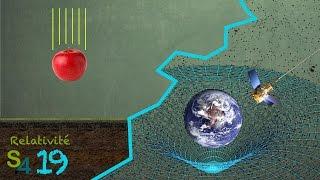 La gravité, accélération ou courbure ? Relativité 19