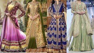 Latest Trend - Jacket Bridal Lehenga for weddings, reception, Mehendi, Shadi Party 2018