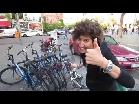 Eco bike ride in Berlin