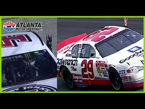 Harvick pays tribute to Dale Sr  after Atlanta victory
