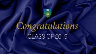 Yale SOM Diploma Ceremony 2019
