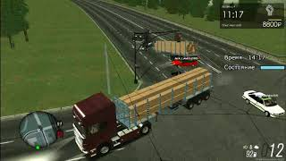 Подборка аварий в MTA Province #3|Приколы на дороге!