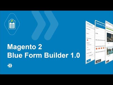 Blue Form Builder   Magento 2 Form Builder   Simple Drag & Drop