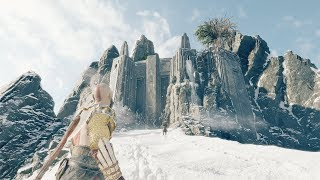 God Of War - (Spoiler) What Happens When You Reach The Top Of The Mountain In God Of War?