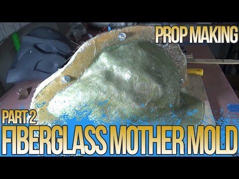 FIBERGLASS MOTHER MOLD - REAPER From OVERWATCH MASK BUILD, PART 2)