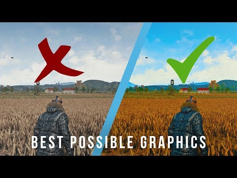 BEST GRAPHICS / INCREASE VISIBILITY / REMOVE BLUR! — Battlegrounds [Reshade]
