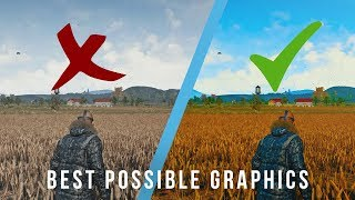 BEST GRAPHICS / INCREASE VISIBILITY / REMOVE BLUR! — Battlegrounds