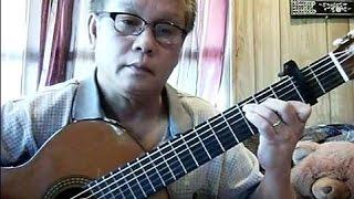 Chiều Tím (Đan Thọ - thơ: Đinh Hùng) - Guitar Cover by Hoàng Bảo Tuấn