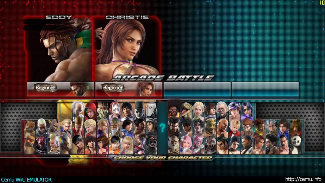 Cemu Wiiu Emulator Tekken Tag Tournament 2 Wii U Edition Intro
