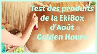 Test des produits de la EKIBOX d