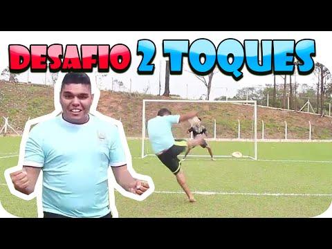 Super Desafio dos Dois Toques ‹ Ensinando o Zidane a bater na Bola›