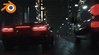 Blender car animation | Breakdown