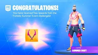 HOW TO GET FREE SUMMER EVENT REWARDS IN FORTNITE! [Summer Challenges] *NEW*