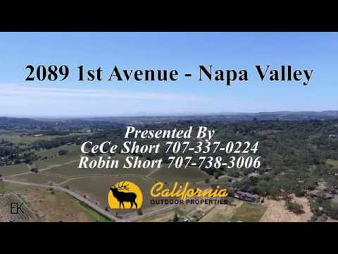 2089 1st Ave Napa Valley Presented By California Outdoor Properties