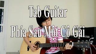 [Guitar TAB] - Phía sau một cô gái - Soobin Hoàng Sơn - Cover Giang Thao
