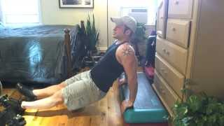 Frugal Exercise Demo Bench Tricep Dips