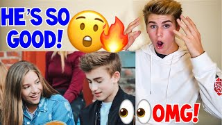 Video WOW HE CAN SING! JOHNNY ORLANDO - EVERYTHING **REACTION** (OFFICIAL VIDEO) NO AUTO TUNE 2017 download MP3, 3GP, MP4, WEBM, AVI, FLV Maret 2018