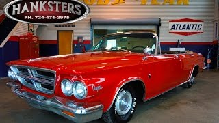 1964 Chrysler 300 Convertible w/ 413ci Mopar V8, 727 automatic transmission