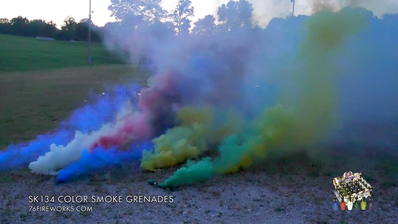 SK134 Color Smoke Grenades