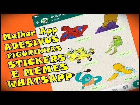 Melhor App De Adesivos, Figurinhas E Stickers De Memes Para WhatsApp