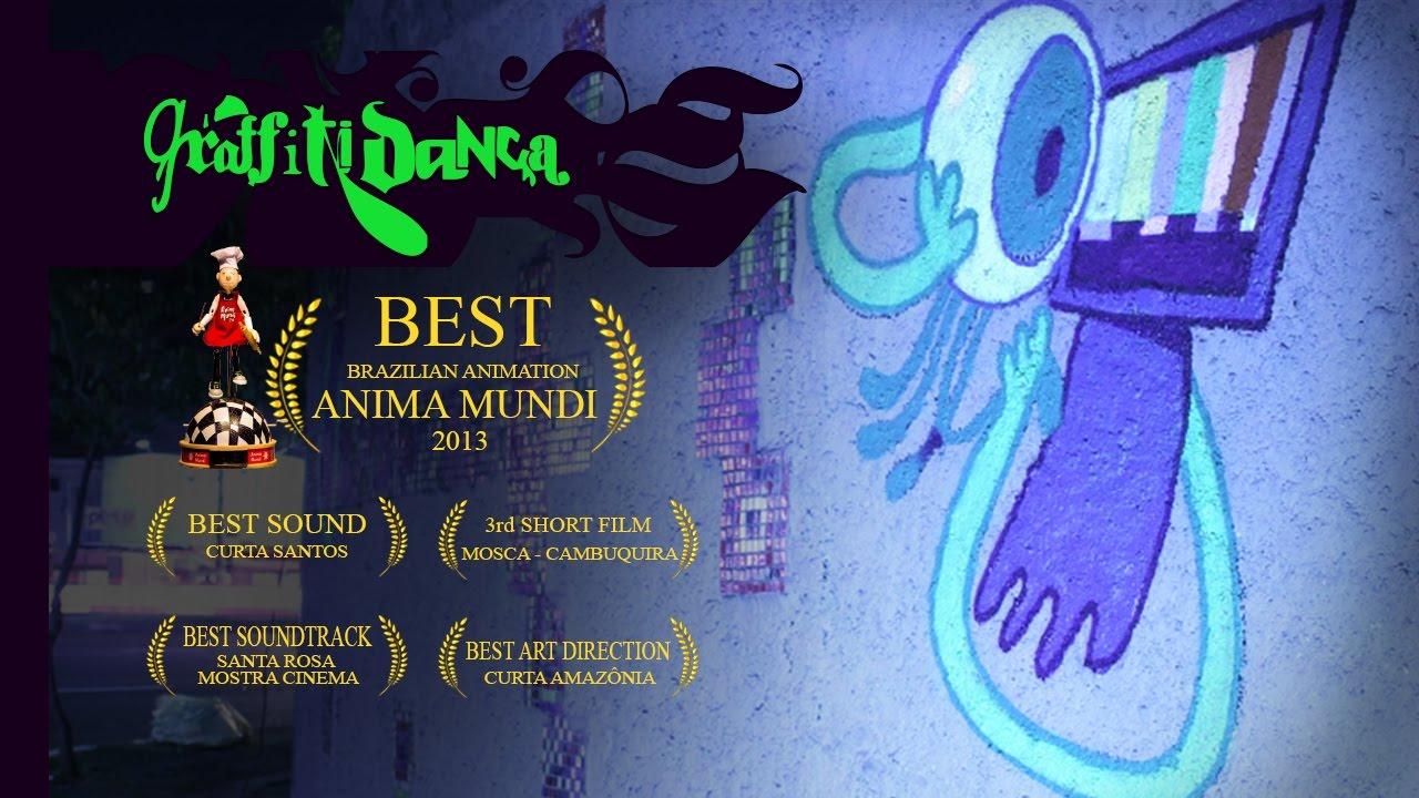Graffiti Animation Graffiti Danassa Dancing Graffiti Animation Short Film Youtube