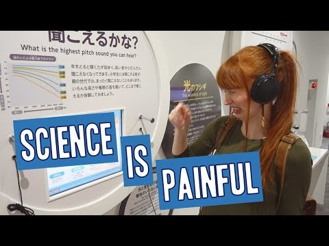 Exploring Japan's cutting edge science and technology!