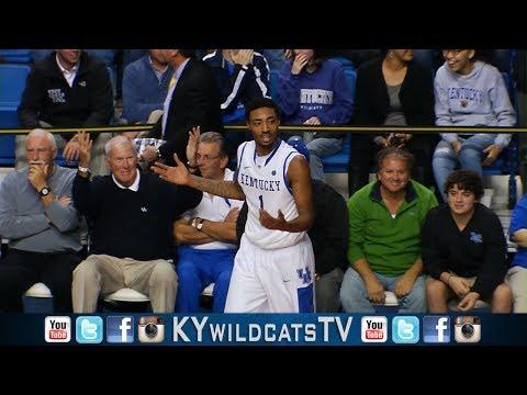 Kentucky Wildcats TV: James Young Own Goal