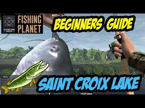 Fishing Planet - Saint Croix Lake - **EASY MONEY** Northern Pike, Musky, Blue Catfish (2017)