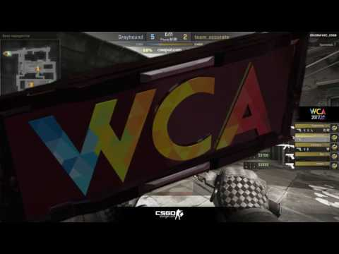 WCA 2017 Asia closed Qualifier || Grayhound vs Recca bo1