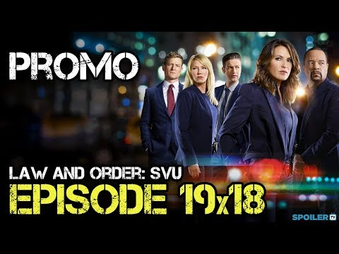 "Law and Order SVU 19x18 Promo ""Service"""