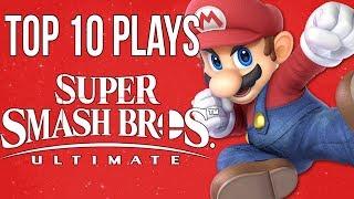 Top 10 Super Smash Bros Ultimate Plays @ E3/Rage 2018 - SSBU