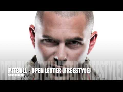 PITBULL - OPEN LETTER (freestyle)