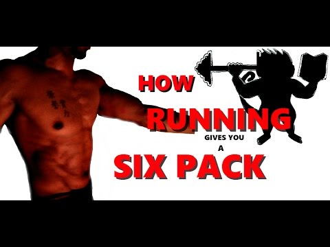 HOW RUNNING GIVES YOU A SIX PACK