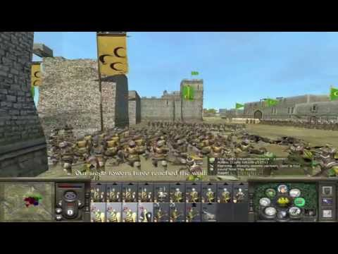 Medieval II: Total War - 2v2 Siege Attacking W/ Apollo, Warrior And Rambler