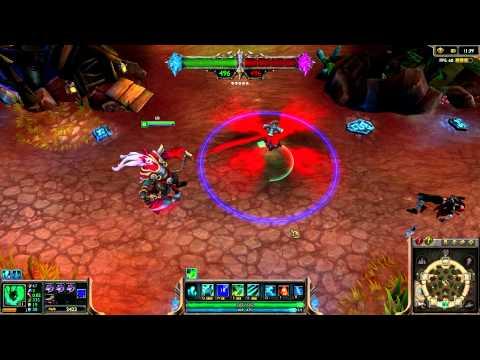 Blood Moon Thresh League of Legends Skin Spotlight