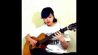 Xuân Xa Mẹ ( Cover: Virginia Nguyen - Bé Mẫn) Fingerstyle