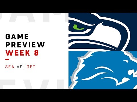 Seattle Seahawks vs. Detroit Lions | Week 8 Game Preview | NFL Film Review